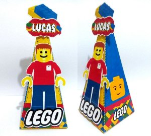 Caixa Cone Lego