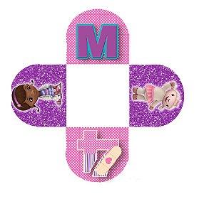 Caixeta para Doces personalizada Doutora Brinquedos