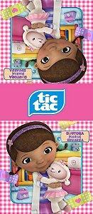 Adesivo personalizado para TicTac Doutora Brinquedos