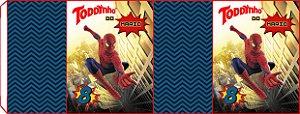 Embalagem com 2 rotulos Toddynho Homem Aranha