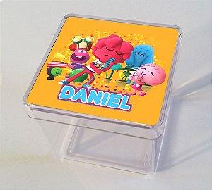 Adesivo caixinha acrílica 5x5cm Jelly Jamm