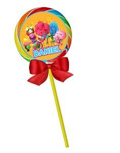 Adesivo personalizado para pirulito Jelly Jamm