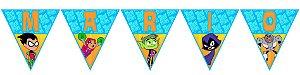 Bandeirinha Personalizada Os Jovens Titãs