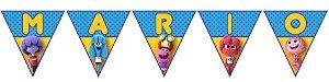 Bandeirinha Personalizada Jelly Jamm