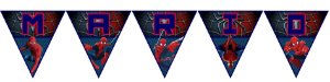 Bandeirinha Personalizada Homem Aranha