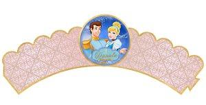 Pacote com 6 Wrappers personalizados Cinderela