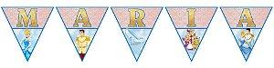 Bandeirinha Personalizada Cinderela