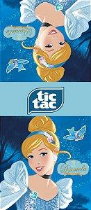 Adesivo personalizado para TicTac Cinderela