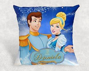 Almofada Personalizada para Festa Cinderela