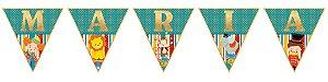 Bandeirinha Personalizada Circo