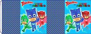 Embalagem com 2 rotulos Toddynho PJ Masks – Heróis de Pijama