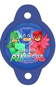 Tag para canudinho PJ Masks – Heróis de Pijama