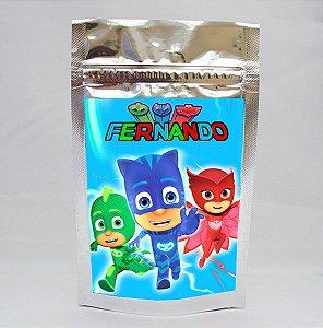 Adesivo para Saco Metalizado PJ Masks – Heróis de Pijama