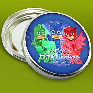 Embalagem com 20 adesivos PJ Masks – Heróis de Pijama