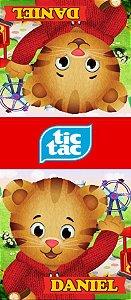 Adesivo personalizado para TicTac Daniel Tigre