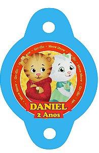 Tag para canudinho Daniel Tigre