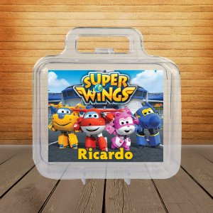 Adesivo Maletinha acrílica Super Wings