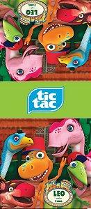 Adesivo personalizado para TicTac Dinotrem