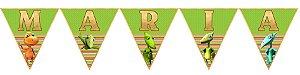 Bandeirinha Personalizada Dinotrem