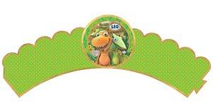 Pacote com 6 Wrappers personalizados Dinotrem