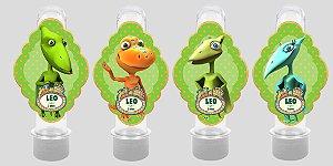 Embalagem com 8 apliques para Tubete Dinotrem
