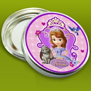 Embalagem com 20 adesivos Princesa Sofia