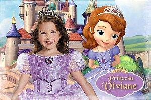Imã Personalizado 7 cm x 10 cm Princesa Sofia com montagem