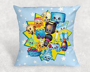 Almofada personalizada para festa Shopkins meninos