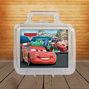 Adesivo Maletinha acrílica Carros da Disney