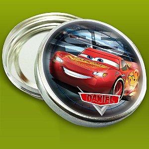 Embalagem com 20 adesivos Carros da Disney