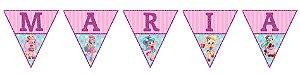 Bandeirinha Personalizada Shopkins