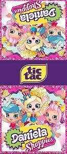 Adesivo personalizado para TicTac Shopkins