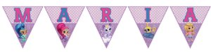 Bandeirinha Personalizada Shimmer e Shine
