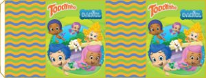 Embalagem com 2 rotulos Toddynho Bubble Guppies
