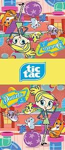 Adesivo personalizado para TicTac Frankie e os Zhu Zhu Pets