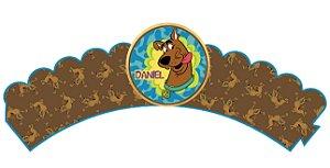 Pacote com 6 Wrappers personalizados Scooby Doo