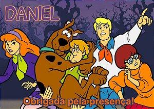 Cartão de Agradecimento Scooby Doo