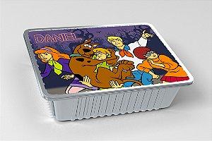 Tampa para marmitinha personalizada Scooby Doo