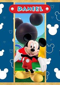 Adesivo personalizado para bisnaguinha debrigadeiro  A Casa do Mickey Mouse