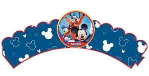 Pacote com 6 Wrappers personalizados A Casa do Mickey Mouse