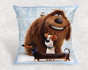 Almofada Personalizada para Festa Pets - A Vida Secreta dos Bichos