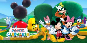 Painel personalizado 1,20 m x 0,60 m A Casa do Mickey Mouse