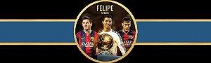 Rótulo água Neymar,Messi e Cristiano Ronaldo