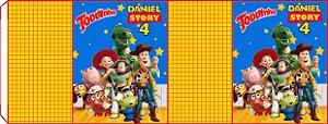 Embalagem com 2 rotulos Toddynho Toy Story