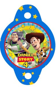 Tag para canudinho Toy Story