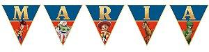 Bandeirinha Personalizada Toy Story