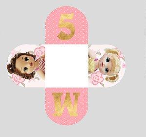 Caixeta para Doces personalizada Baby Alive