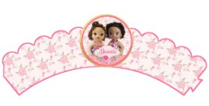 Pacote com 6 Wrappers personalizados Baby Alive