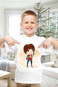 Camiseta Infantil Stranger Things 10
