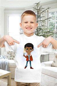 Camiseta Infantil Stranger Things 8
